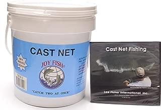 Joy Fish Professional Bait Cast Net, 3/8