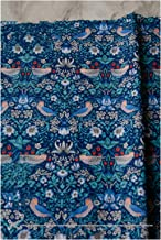 DIY 160 cm * 50 cm retro donkere bloemen katoen diy beddengoed kleding jurk patchwork stof kinderen handwerk katoenen doek...