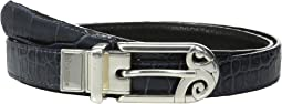 "Mingle Sleek 7/8"" Reversible Belt"