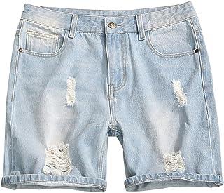 3e26d009a413 Aancy 2018 Mens Casual Blue Straight Denim Summer Solid Color Loose Plus  Size Beach Men Jean