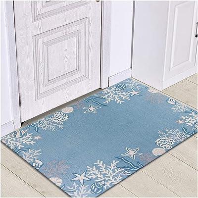 WHAIYAO Living Room Rugs Carpets Crystal Velvet Doormat Sofa Carpet Bedside Blanket Rectangular Floor Mats, 14 Colors, 3 Sizes (Color : I, Size : 120X160CM)