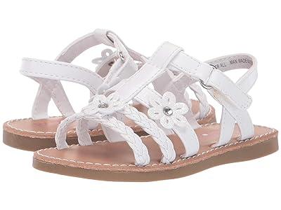 Rachel Kids Summer (Toddler/Little Kid) (White/White) Girl