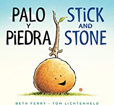 Palo y Piedra/Stick and Stone bilingual board book (English and Spanish Edition)