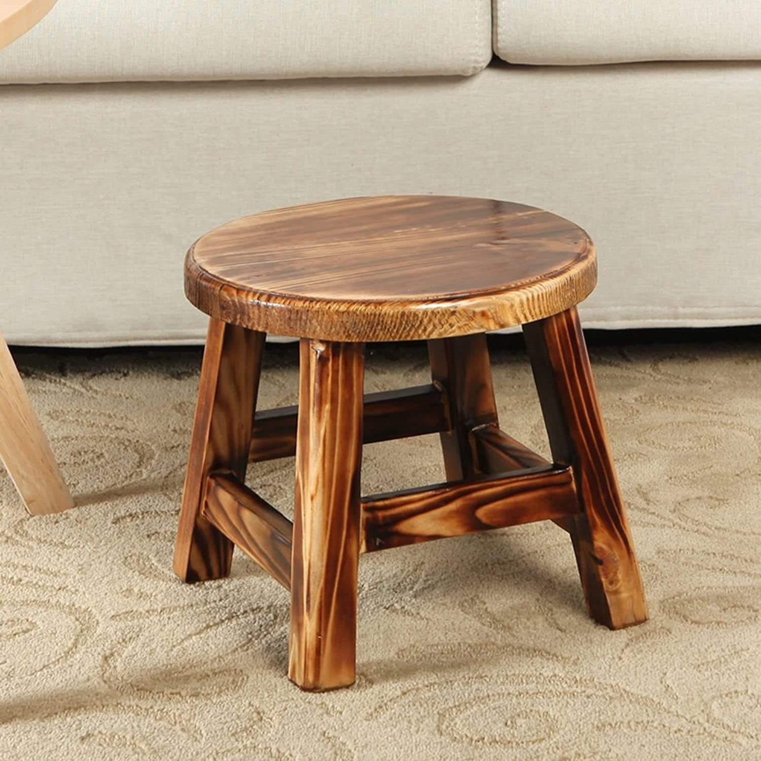 MEIDUO Chairs Coffee Table Stool Adult Sofa Stool Household Solid Wood Stools
