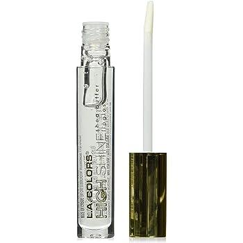 L.A. COLORS High Shine Shea Butter Lip Gloss, Clear, 0.14 Ounce
