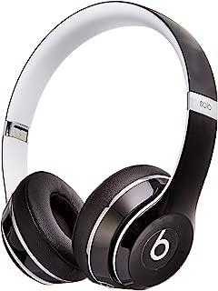 Beats Solo 2 WIRED On-Ear Headphones Luxe Edition NOT WIRELESS - Black (Renewed)