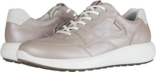 Grey Rose Metallic/Shadow White Cow Leather/Yak Nubuck