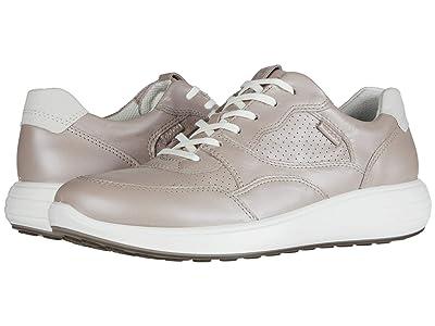 ECCO Soft 7 Runner Sneaker (Grey Rose Metallic/Shadow White Cow Leather/Yak Nubuck) Women