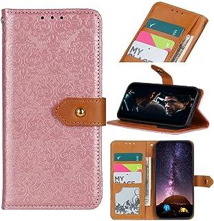 Etui Nokia 8V 5G, Nokia 8V 5G pokrowiec na książkę premium skóra PU tłoczony kwiat klapka folio [ochrona magnetyczna] port...