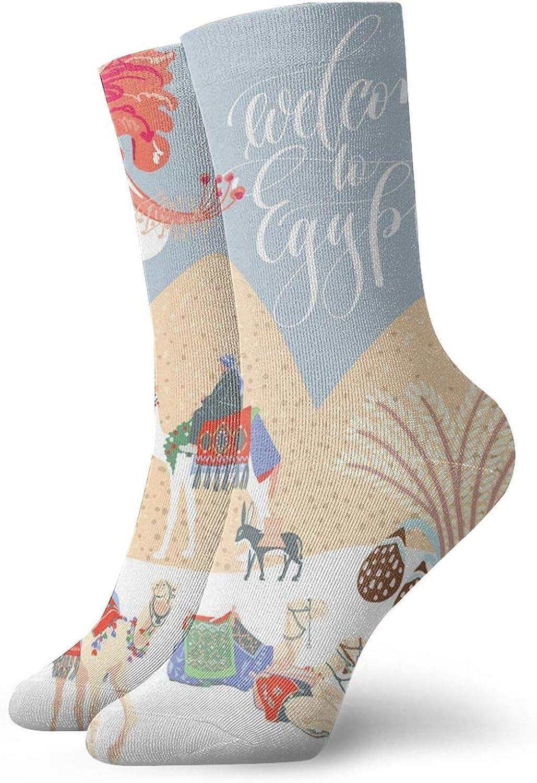 Abstract Syngnathidae Sea Marine Tones Drawing Athletic Socks For Men / Women,30CM