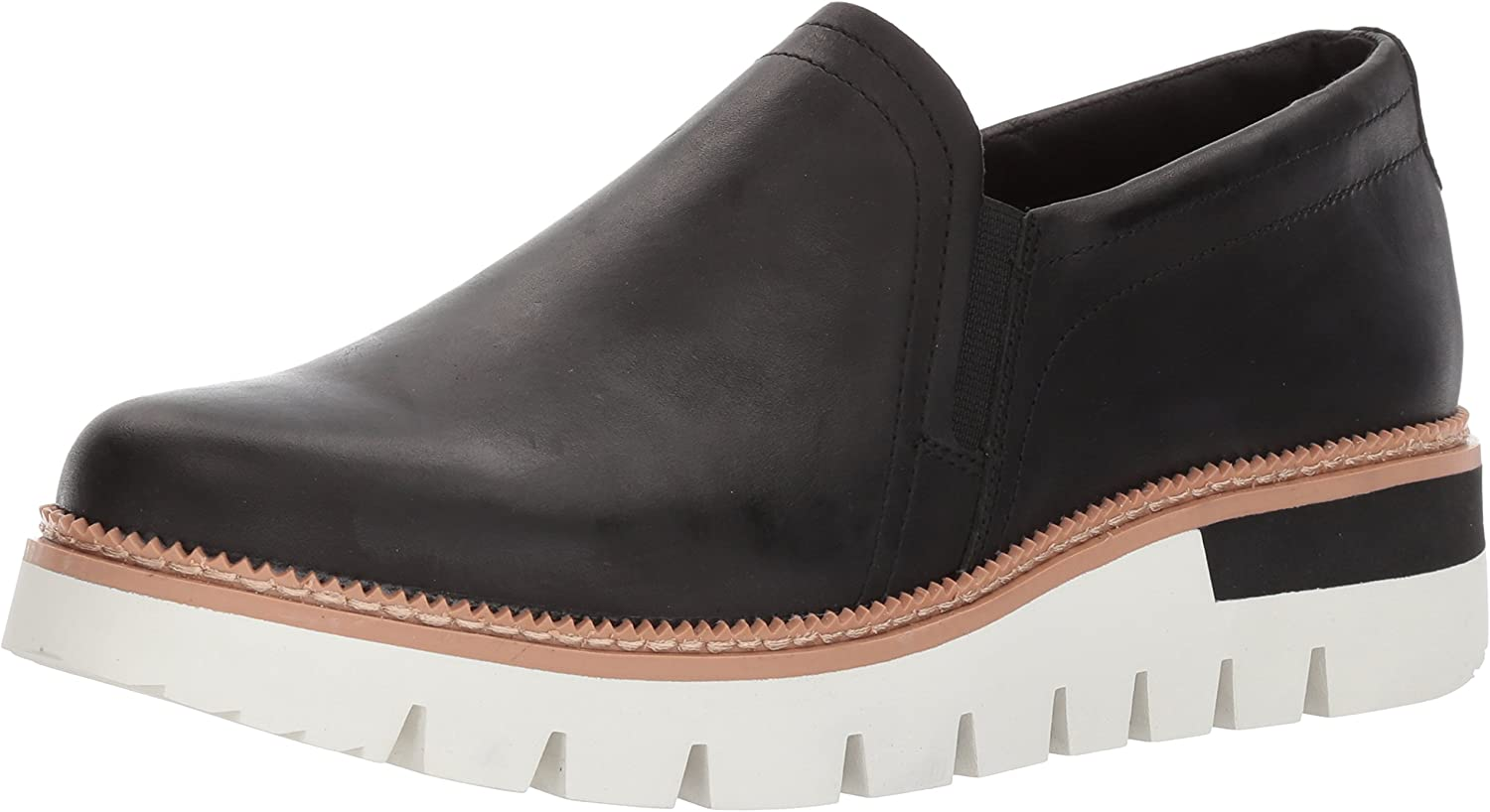 Caterpillar Womens Parody Leather Slip on shoes Loafer
