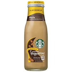 Starbucks Almond Milk Frappuccino, Mocha, 13.7oz Bottle