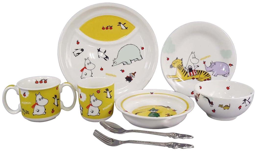 定義する突き出す物理MOOMIN (ムーミン) 子供食器 ベビー 子ども食器 8点セット(スプーン フォーク キッズ仕切り皿 両手マグ プレート皿 お茶碗 マグカップ プレート皿) (ギフト箱入)子供用 食器 MM140-303