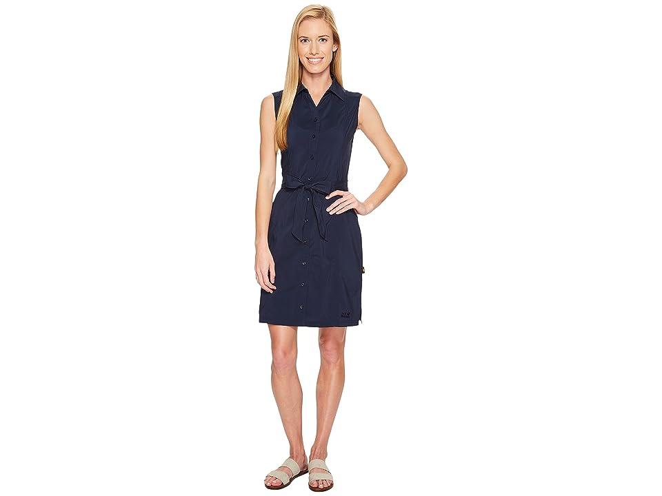 Jack Wolfskin Sonora Dress (Midnight Blue) Women