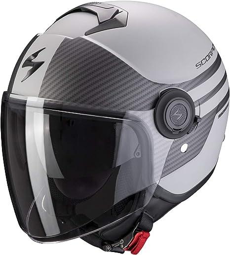 Ft Scorpion Exo City Moda Silver Matt Motorcycle Helmet Scooter Helmet L 59 60 Silver Matt Auto