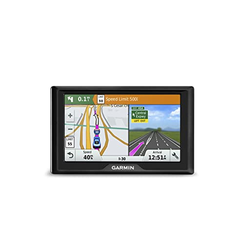 Garmin Drive 50 USA LM GPS Navigator System with Lifetime Maps, Spoken Turn-By