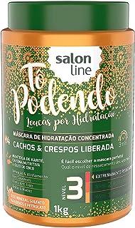 Máscara de Hidratação - Tô Podendo Cachos & Crespos Liberada, 1 kg, Salon Line, Salon Line
