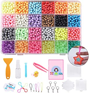 4000PCS Fuse Bead Kit Magic DIY Bead Water Bead with Accessories for Kids