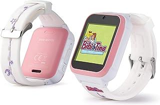 Bibi & Tina Kids Watch   die Smartwatch für Kinder mit lustigen Spielen und tollen Funktionen! 4 Zifferblätter, Kamera, Foto, Video, Schritte, Alarm, Stopuhr, Timer, Filter u.v.m.