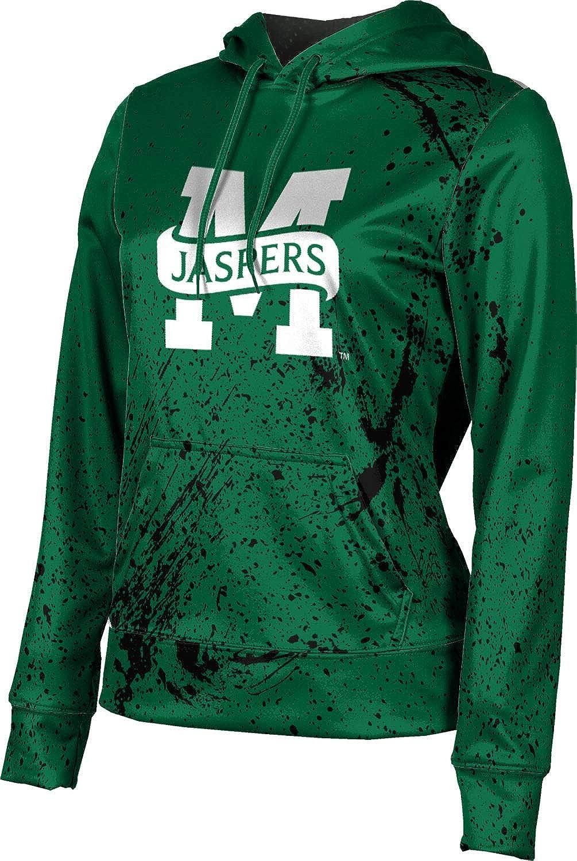 Manhattan College Girls' Pullover Hoodie, School Spirit Sweatshirt (Splatter)