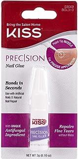 Best KISS Precision Nail Glue 0.10 oz - BGL310 (1 Pack) (Nail Glue) Review