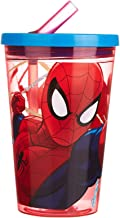 Stor Mixed Robot Tumbler Spiderman Red Webs 450 Ml - Multi Color 33410