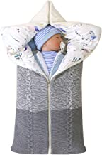 Petyoung Neugeborenes Baby Kinderwagen Schlafsack Wickeldecke Multifunktions-Kinderwagen Wrap Schlafmatte Dicken Warmen Schlafsack für Jungen Mädchen 0-12 Monate