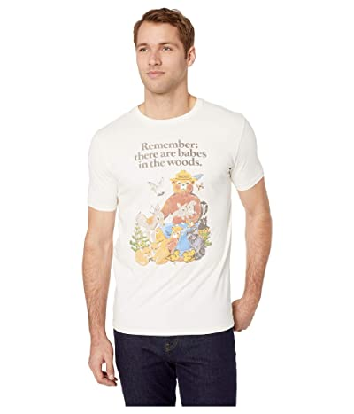 Lucky Brand Smokey Babes Tee (Snow White) Men
