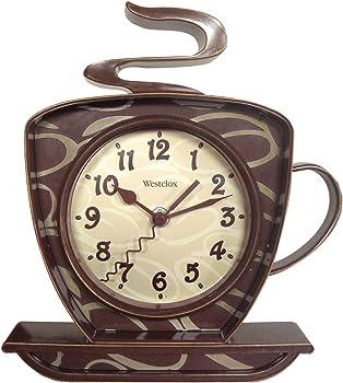 Westclox 3D Coffee Wall Clock (32038)