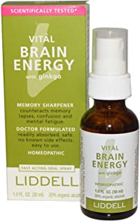 VITL Brain Energy Liddell Homeopathic 1 oz Liquid