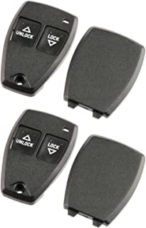 fits Jeep Grand Cherokee/Jeep Cherokee 1993 1994 1995 1996 Key Fob Keyless Entry Remote Shell Case & Pad (56009031), Set of 2