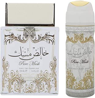 Pure musk eau de parfum 100 ml and deodorant 200 ml