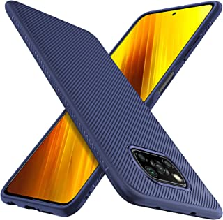 جراب ELTD لهاتف Xiaomi POCO X3 NFC ، غطاء رفيع مرن ممتاز مقاوم للصدمات مع جراب حماية من السقوط لهاتف Xiaomi POCO X3 NFC ال...