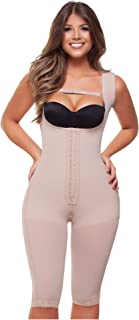 Fajitex Fajas Colombianas Reductoras y Moldeadoras High Compression Garments After Liposuction Full Bodysuit 022691 032691