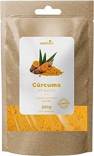 comprar comparacion Cúrcuma en Polvo 100% Orgánica 500gr Carefood | Ecológica Procedente de la India | Superalimento Ecológico
