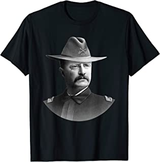 Colonel Teddy Roosevelt - Rough Riders T-Shirt