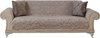 Chiara Rose Couch Covers for Dogs Sofa Cushion Slipcover 3 Seater Furniture Protectors Futon Cover, Sofa, Acacia Tan