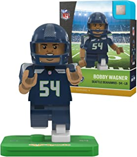 OYO NFL Seattle Seahawks Gen4 Limited Edition Bobby Wagner Mini Figure, Small, White