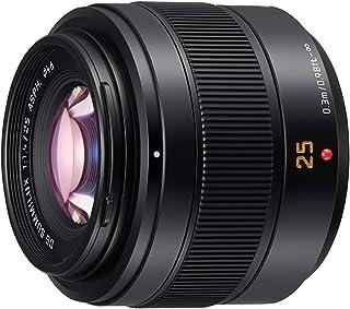 Panasonic H-XA025GC Dust Resistant/Splash Resistant Leica DG SUMMILUX 25mm Single Focal Length Lens/ F1.4 II ASPH. Micro F...