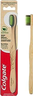 Colgate Bamboo Charcoal Black Soft Toothbrush - 1pk