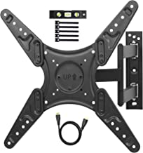 TV Wall Mount Full Motion Single Stud Articulating TV Bracket for Most 26-55