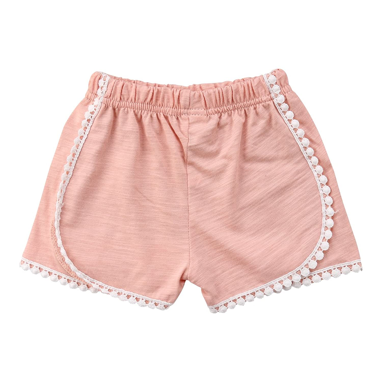 Sylvamorning ガールズ パンツ 女の子 短パンツ ガールズ ボクサーパンツ バレエダンサー 女児用インナー ショーツ 女の子ショートパンツ