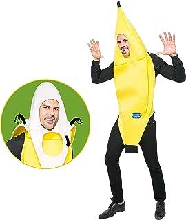 Spooktacular Creations - Costume da banana, per adulti, per Halloween, feste e giochi di ruolo