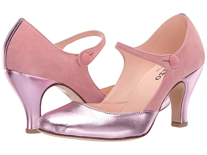 Vintage Heels, Retro Heels, Pumps, Shoes Repetto Gitane Dragee Pink Womens Shoes $275.99 AT vintagedancer.com
