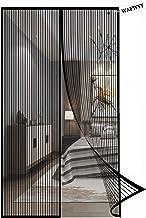 Magnetisch vliegengaas, insectenbescherming, magnetisch muggennet, automatisch sluiten, voor balkon- en terrasdeur.