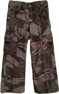 Wrangler Boys Camo Cargo Pants Classic Twill (10 Regular, Grey Camo)