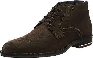 Tommy Hilfiger Signature Hilfiger Suede Men's Men Boots
