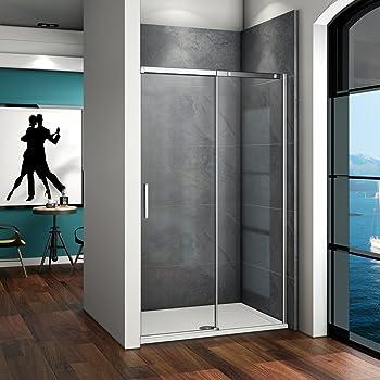 100x195cm Mamparas de ducha puerta de ducha 8mm vidrio templado de Aica: Amazon.es: Bricolaje y herramientas