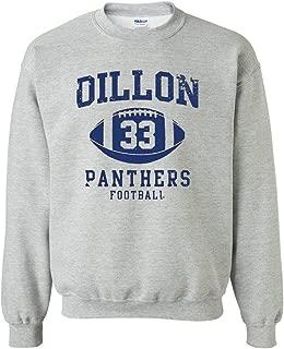 Dillon 33 Football Retro Sports DT Novelty Crewneck Sweatshirt