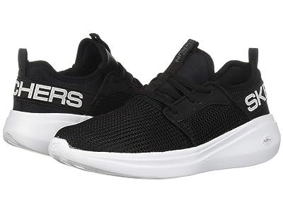 SKECHERS Go Run Fast (Black/White) Women